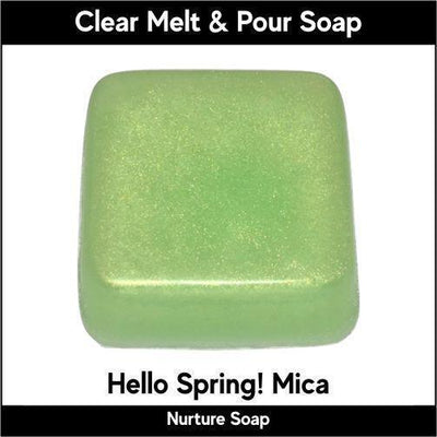 Hello Spring! Mica in MP Soap