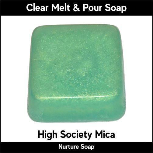 High Society Mica in MP Soap