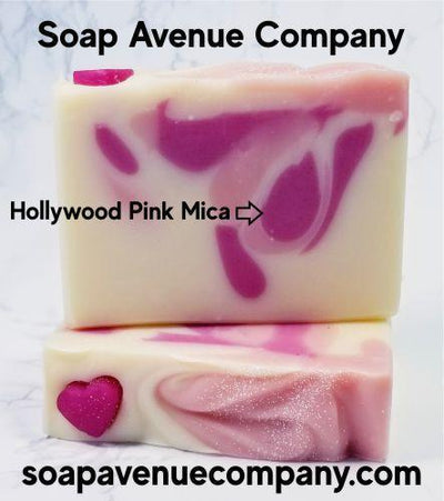 Hollywood Pink Mica - Nurture Soap