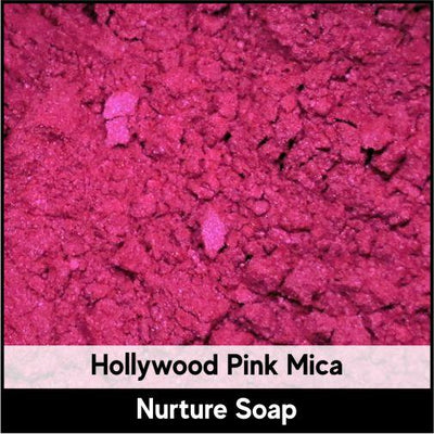 Hollywood Pink Mica-Nurture Soap Making Supplies