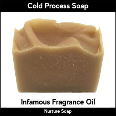 Infamous in cold process-Nurture Soap