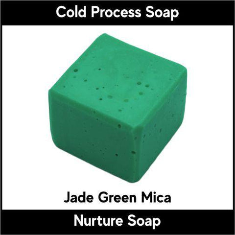 Jade Green Crystal Mica Powder - Nurture Soap Inc. - 1