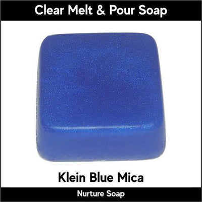 Klein Blue Mica in MP Soap