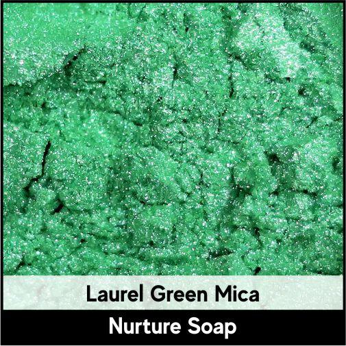 Laurel Green Mica-Nurture Soap Making Supplies
