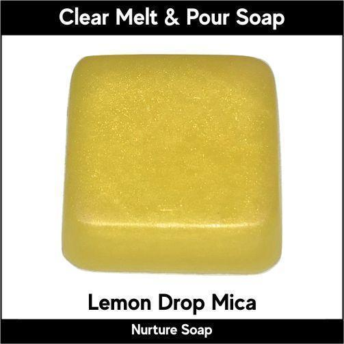 Lemon Drop Mica in MP Soap