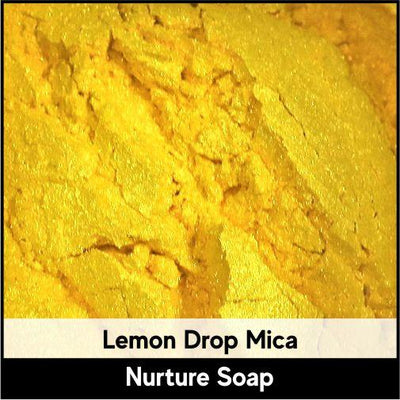 Lemon Drop Mica-Nurture Soap Making Supplies