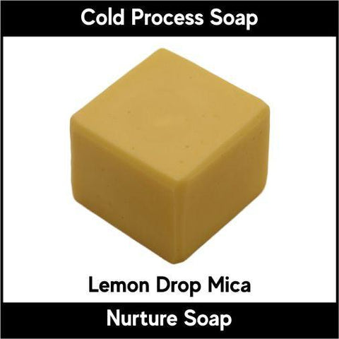 Lemon Drop Yellow Crystal Mica Powder - Nurture Soap Inc. - 1