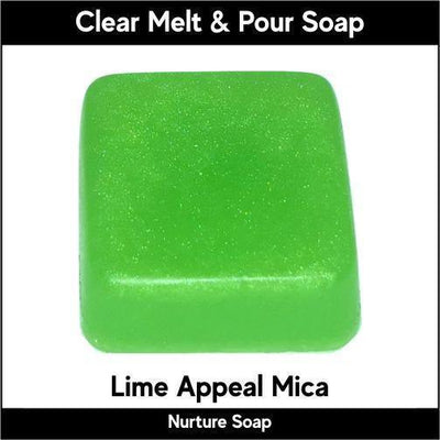 Lime Appeal Mica in MP Soap