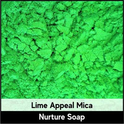 Lime Appeal Green Mica-Nurture Soap