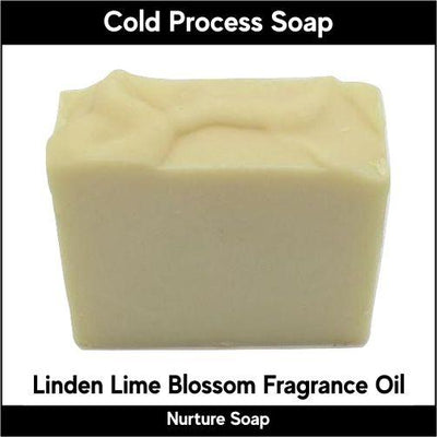 Linden Lime Blossom in cold process-Nurture Soap