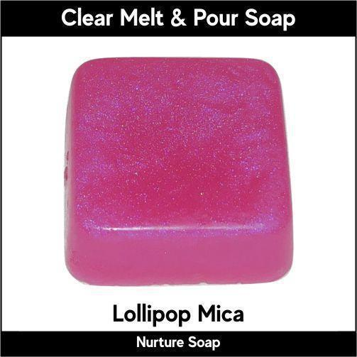 Lollipop Mica in MP Soap
