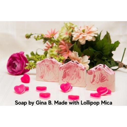 Lollipop Pink Mica - Nurture Soap