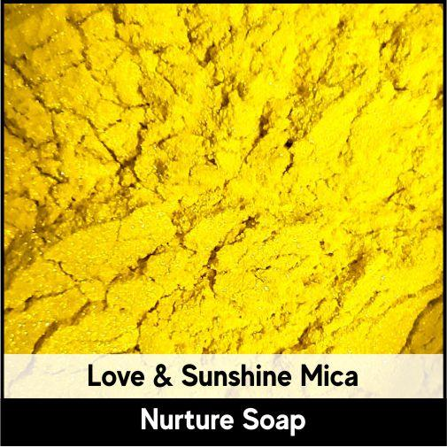 Love & Sunshine Mica-Nurture Soap Making Supplies