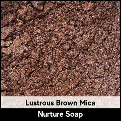 Lustrous Brown Mica-Nurture Soap Making Supplies