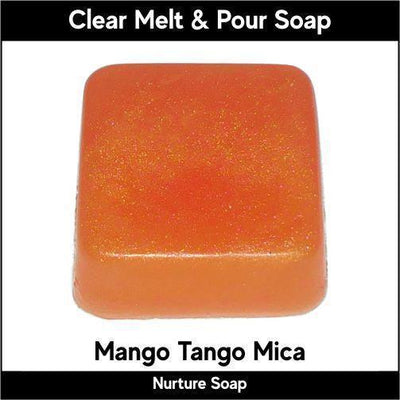 Mango Tango Mica in MP Soap