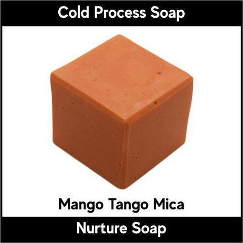 Mango Tango Mica Powder - Nurture Soap Inc. - 1