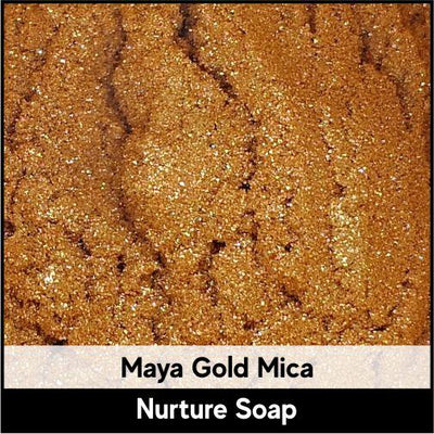 Maya Gold Mica-Nurture Soap Making Supplies