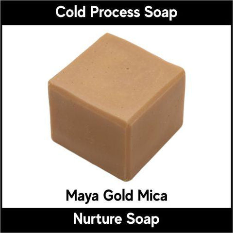Maya Gold Mica Powder - Nurture Soap Inc. - 1
