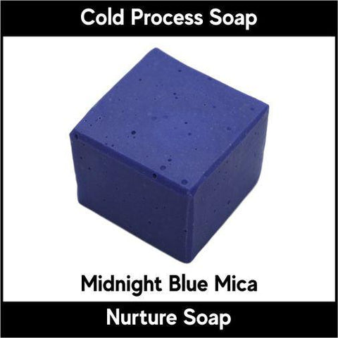 Midnight Blue Crystal Mica Powder - Nurture Soap Inc. - 1