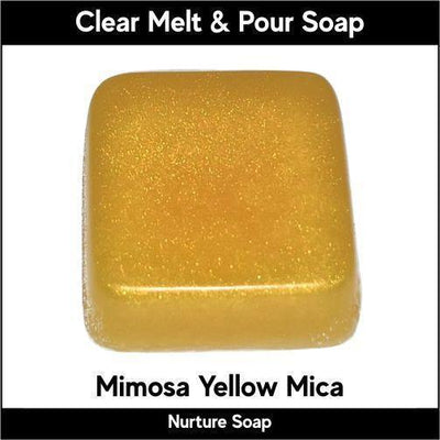 Mimosa Mica in MP Soap
