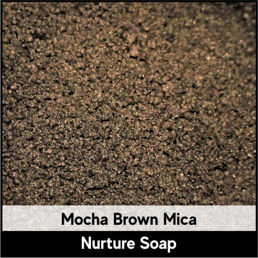 Mocha Brown Mica-Nurture Soap Making Supplies