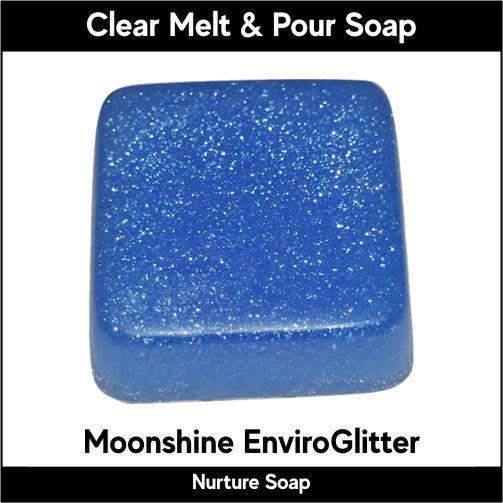 Moonshine Eco-Friendy EnviroGlitter in MP Soap