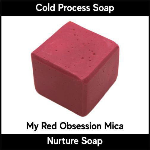 My Red Obsession Mica-Nurture Soap Making Supplies