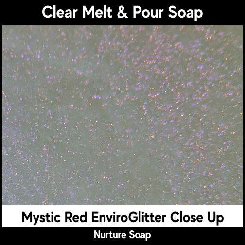 Mystic Red Eco-Friendy EnviroGlitter