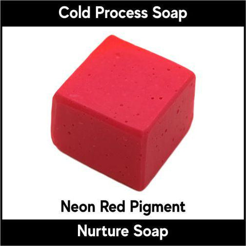 Neon Red Pigment - Nurture Soap Inc. - 2