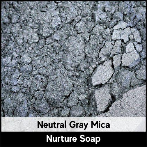 Neutral Gray Mica-Nurture Soap Making Supplies