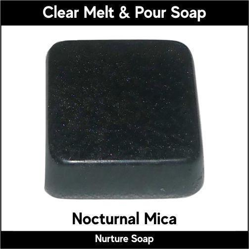 Nocturnal Mica in MP Soap