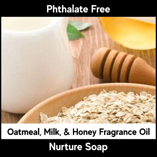 Oatmeal, Milk & Honey-Nurture Soap