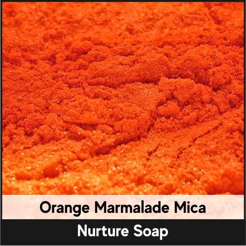 Orange Marmalade Mica-Nurture Soap Making Supplies