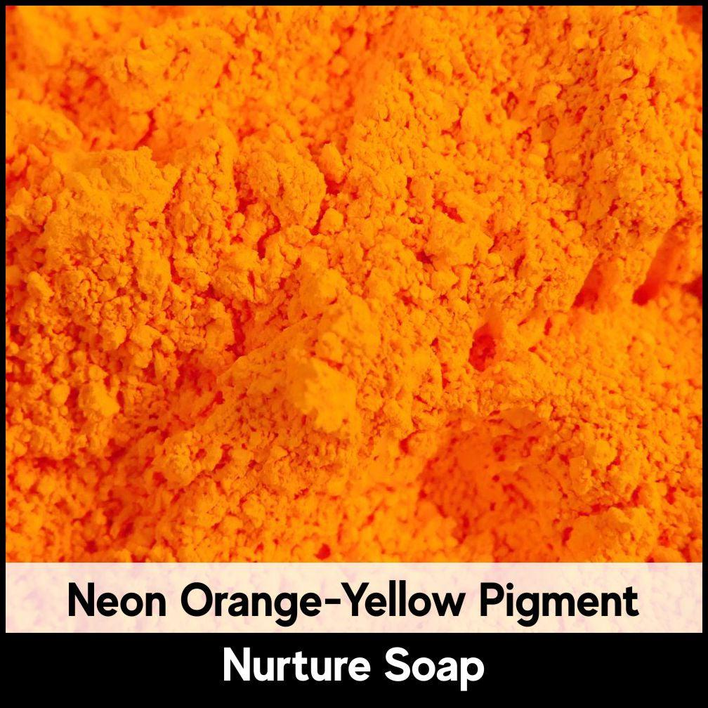 Fluorescent Orange Yellow