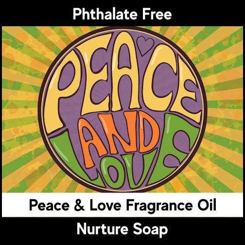 Peace & Love-Nurture Soap
