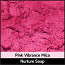 Pink Vibrance Mica-Nurture Soap Making Supplies