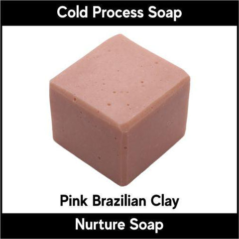 Pink Brazilian Clay - Nurture Soap Inc. - 1