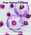 Purple Vibrance Mica - Nurture Soap