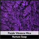 Purple Vibrance Mica-Nurture Soap Making Supplies