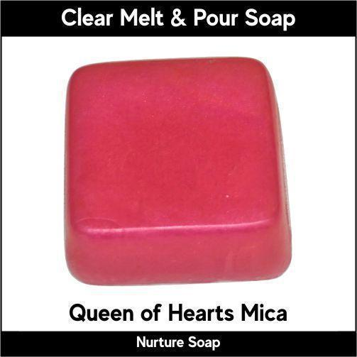 Queen of Hearts Mica in MP Soap
