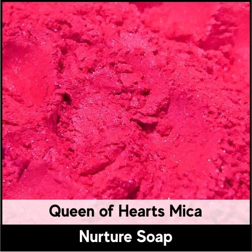 Queen of Hearts Mica-Nurture Soap Making Supplies