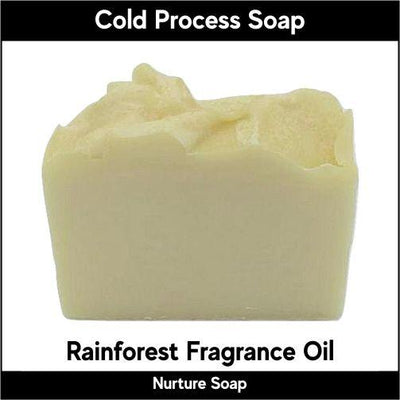 Rainforest in cold process-Nurture Soap