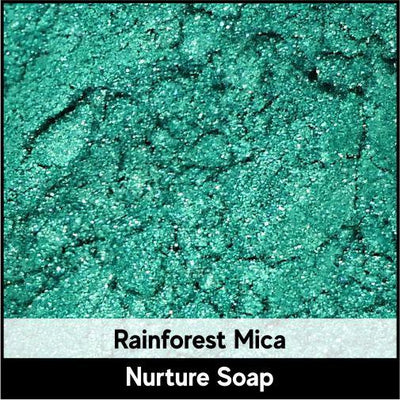 Rainforest Green Mica-Nurture Soap