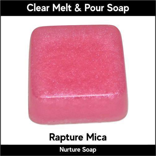 Rapture Mica in MP Soap