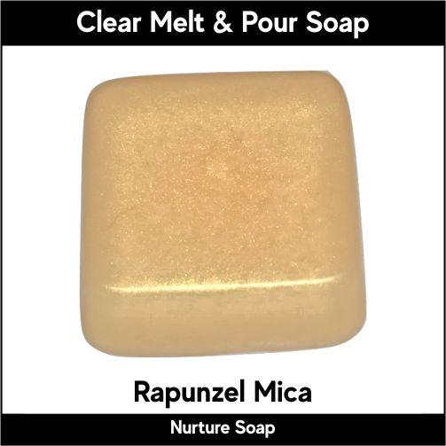 Rapunzel Mica in MP Soap