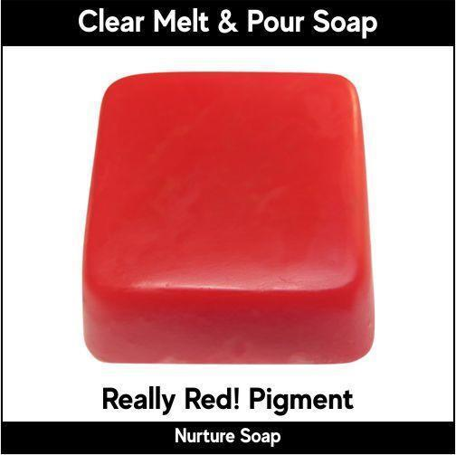 Really Red! Pigment in MP Soap