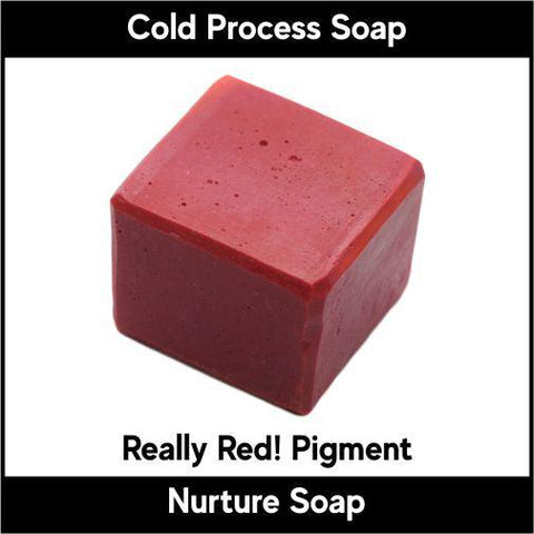 Really Red! Mica Powder New Formula - Nurture Soap Inc. - 1