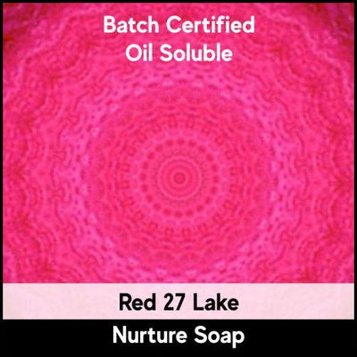 Red 27 Batch Certified Lake Powder