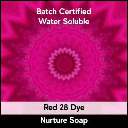 Red 28 Batch Certified Dye Powder