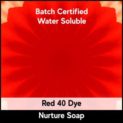 Red 40 Batch Certified Dye Powder